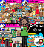 Coffee shop- Big set of 85 images!