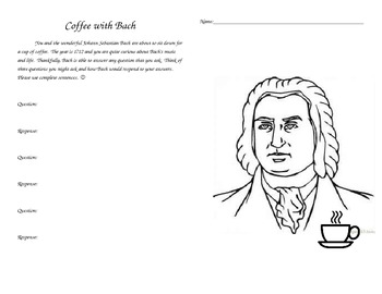 Coffee with J.S. Bach