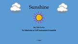 Sunshine/Orff/Marimbas/Elementary Music