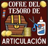 Cofre Del Tesoro De Articulación: A Speech Craft Activity (Español)