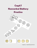 CogAT Nonverbal Practice Pages