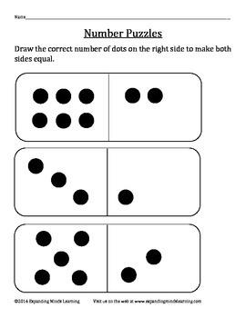 CogAT Practice - Number Puzzles