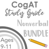 CogAT Test Prep- Intro, Whole Group Practice, & Mock Tests for Subtests 7 - 9