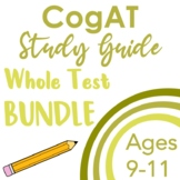 CogAT Test Prep- Introduction, Whole Group Practice, and 2