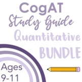 CogAT Test Prep- Intro, Whole Group Practice, & Mock Tests for Subtests 4 - 6