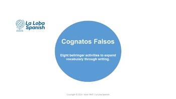 Cognados Falsos - Short activities to learn commonly mistaken words