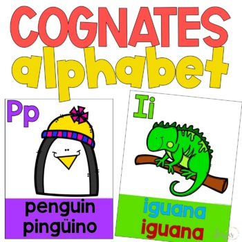 Cognates Alphabet Posters