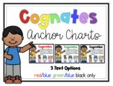 Cognates Anchor Charts
