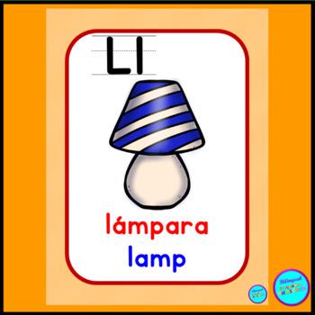 Cognates (Bilingual alphabet cards)