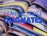 Cognates Lesson - Novice Spanish