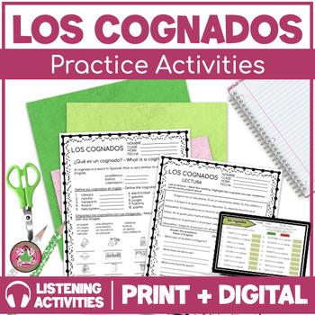 Cognates Practice Packet (Los Cognados)