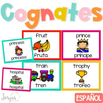 Cognates Wall - English and Spanish
