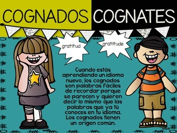 Cognates in English and Spanish