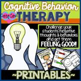 Cognitive Behavior Worksheet Pack (CBT)