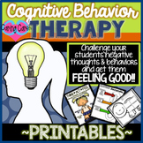 Cognitive Behavior Worksheet Pack (CBT)