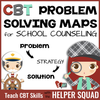Cbt Problem Solving Maps For Individual Counseling And Behavior