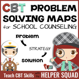 CBT Problem Solving Maps for Individual Counseling and Beh