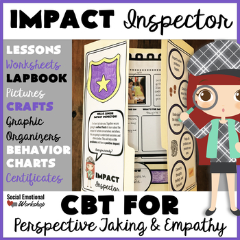 CBT, Perspective Taking, and Empathy Lessons and Activity Pack