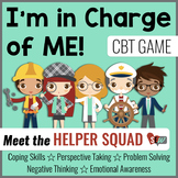 CBT Game for School Counseling and Social Emotional Learning