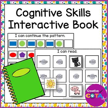 Cognitive Skill Building Interactive Learning Book
