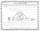 Cognitive Triangle Student Worksheet