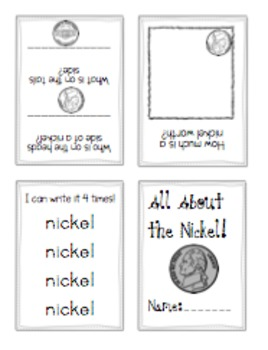 Coin Activities: Penny, Nickel, Dime, Quarter