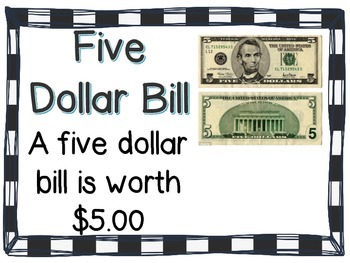 Coin & Bill Anchor Charts [CC Aligned]