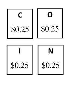 Coin Bingo Amount