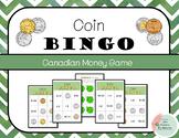 Coin Bingo - Canadian Money
