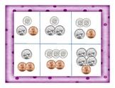 Coin Bingo - Penny, Nickel, Dime
