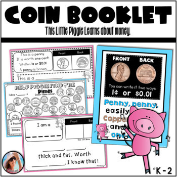 Coin Booklet (Identify Coins and Values)