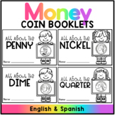 Coin Booklets - All About Coins  (Spanish Version Included)