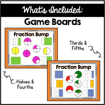 Fraction Bump Game - Recognizing & Identifying Fractions