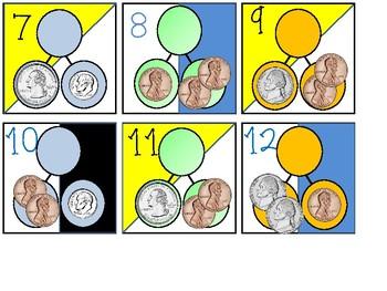 Coin Calendar Cards