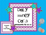 Coin Cards Plus Activities with amounts to $0.50