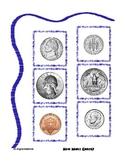 Coin - Change Money Math Center Folder Activity nickel dim