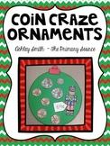 Coin Christmas Ornament Craftivity