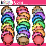 Coin Clip Art   Counting and Sorting Manipulatives for Math Center Activities