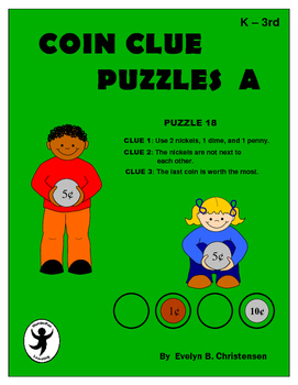 Coin Clue Puzzles Level A
