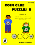 Coin Clue Puzzles Level B