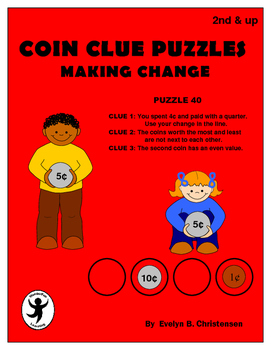 Coin Clue Puzzles - Making Change