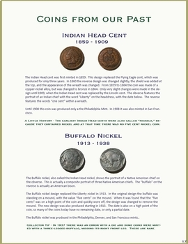 """Coin Collecting Unit Study - """"What Every Kid Should Know About Coins""""- All Ages!"""