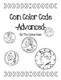Coin Color Code Penny/Nickel/Dime/Quarter/Half Dollar