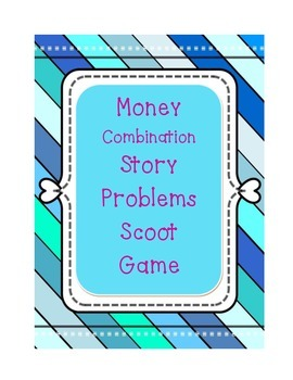 Coin Combination Story Problem Scoot {2.MD.C.8}