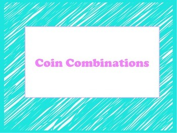 Coin Combinations