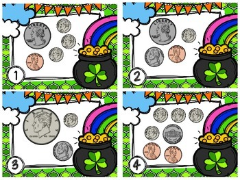 Coin Combinations Pot of Gold