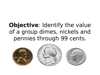 Coin Combinations Power Point Presentation