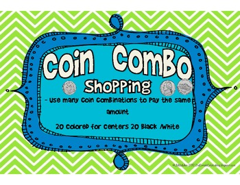 Coin Combo Shopping- Combining Money
