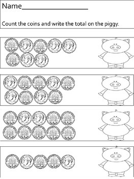 Coin Counting - dimes