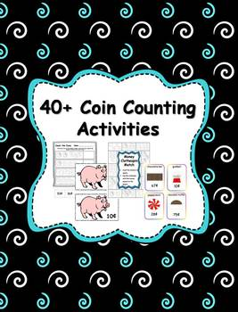40+ Coin Counting Activities